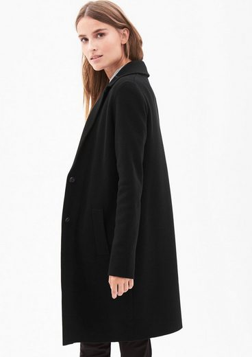 S.oliver Black Label Knit Coat With Button