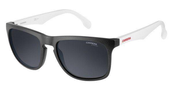Carrera Eyewear Herren Sonnenbrille » CARRERA 5043/S«, weiß, 900/Z9 - weiß/grün