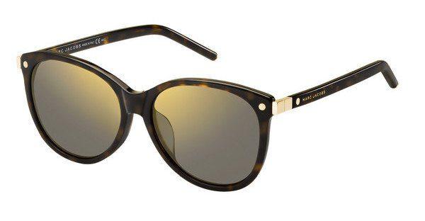MARC JACOBS Marc Jacobs Damen Sonnenbrille » MARC 82/F/S«, braun, 086/HJ - braun/grau
