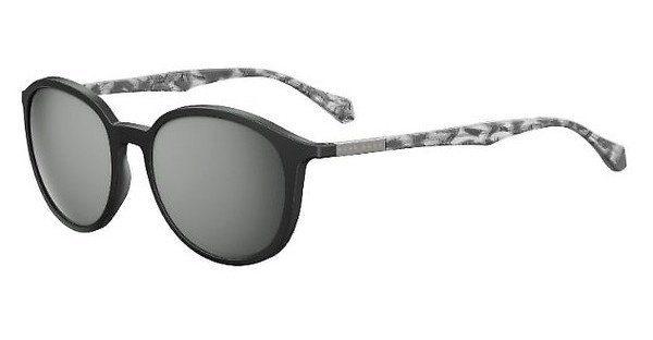 Boss Herren Sonnenbrille » BOSS 0822/S«, schwarz, YV4/T4 - schwarz/silber