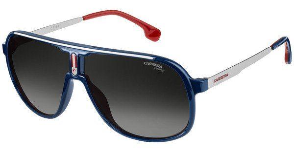 Carrera Eyewear Herren Sonnenbrille » CARRERA 1007/S«, blau, PJP/9O - blau/grau