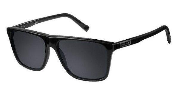 Pierre Cardin Herren Sonnenbrille » P.C. 6190/S«, schwarz, 807/IR - schwarz/grau