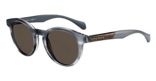 Boss Herren Sonnenbrille » BOSS 0912/S«, braun, 1K1/9A - braun/blau