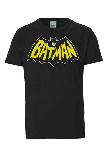 Logoshirt Herrenshirt Batman - Chauve-souris Logo