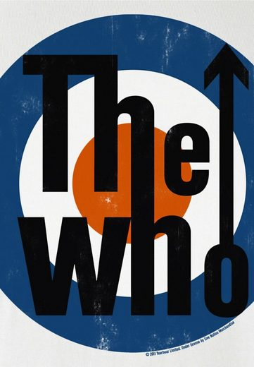 LOGOSHIRT Herrenshirt The Who