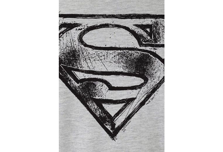 LOGOSHIRT Herrenshirt SUPERMAN - LOGO SCRIBBLE Preise Günstig Online Spielraum Niedrig Kosten Erhalten Verkauf Online Kaufen bbkHg