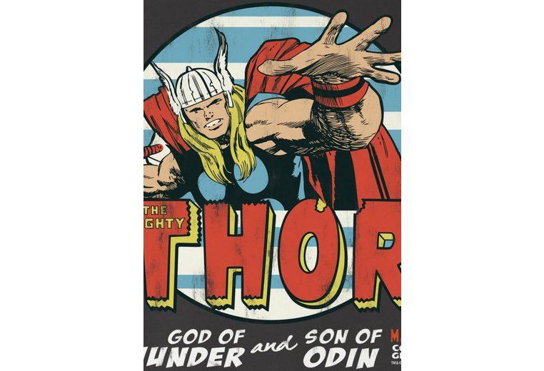 Niedriger Preis Versandgebühr Bester Preis LOGOSHIRT Herrenshirt Thor - Marvel QeCuUIzW