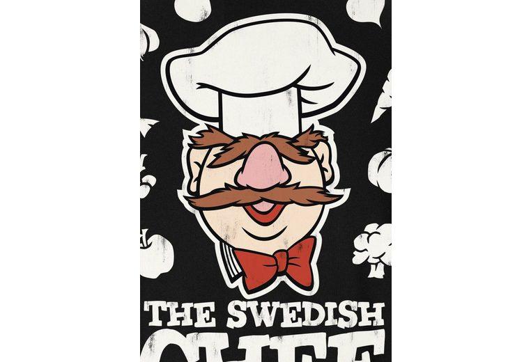 LOGOSHIRT Herrenshirt Der Chef Koch - Muppet Show Webseiten QtxJRF