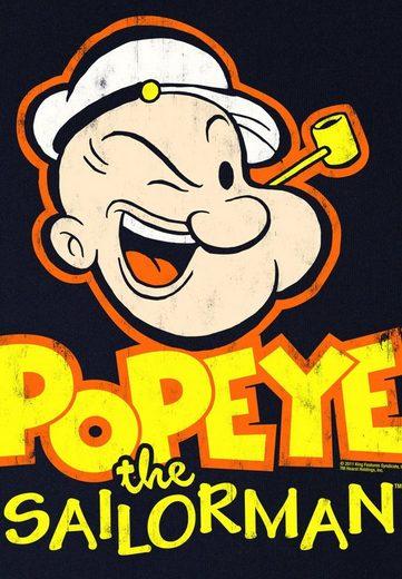 LOGOSHIRT Herrenshirt POPEYE - PIPE