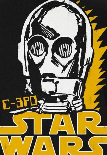 LOGOSHIRT Herrenshirt C-3PO - Krieg der Sterne