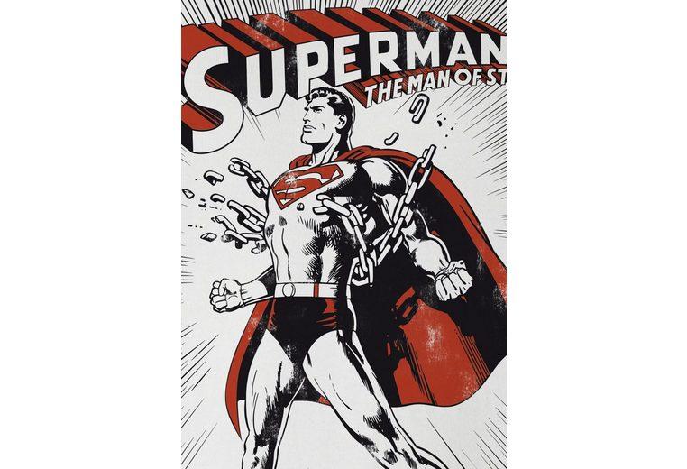 100% Zum Verkauf Garantiert LOGOSHIRT Herrenshirt SUPERMAN KRYPTONITE Spielraum Günstiger Preis Verkauf Breite Palette Von Billig Verkaufen Mode-Stil Verkauf Extrem E4Y11n7
