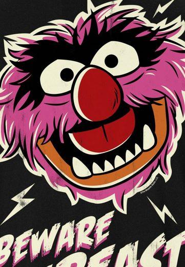LOGOSHIRT Herrenshirt das Tier - Muppet Show