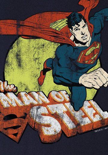 LOGOSHIRT Herrenshirt Superman