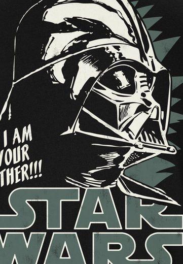 LOGOSHIRT Herrenshirt Darth Vader - Krieg der Sterne