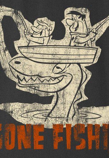 LOGOSHIRT Herrenshirt Familie Feuerstein - Gone Fishin