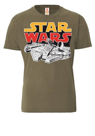 Logo Shirt Herr Shirt Star Wars - Falcon