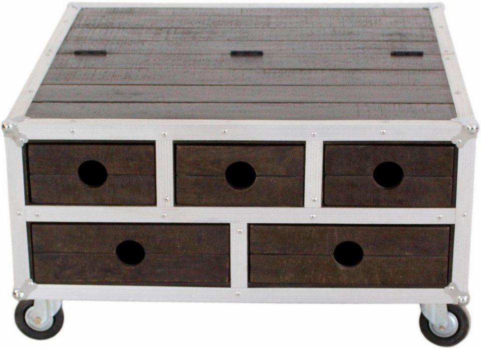 sit couchtischtruhe dark roadies mit aluprofilen und rollen breite 85 cm online kaufen otto. Black Bedroom Furniture Sets. Home Design Ideas