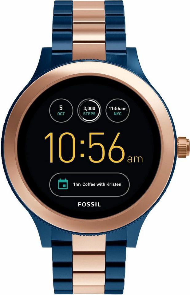 fossil q q venture ftw6002 smartwatch android wear mit. Black Bedroom Furniture Sets. Home Design Ideas