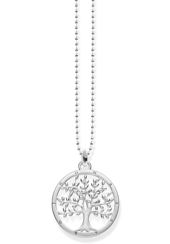 THOMAS SABO Kette mit Anhänger »Tree of Love, KE1660-001-21-L45v«