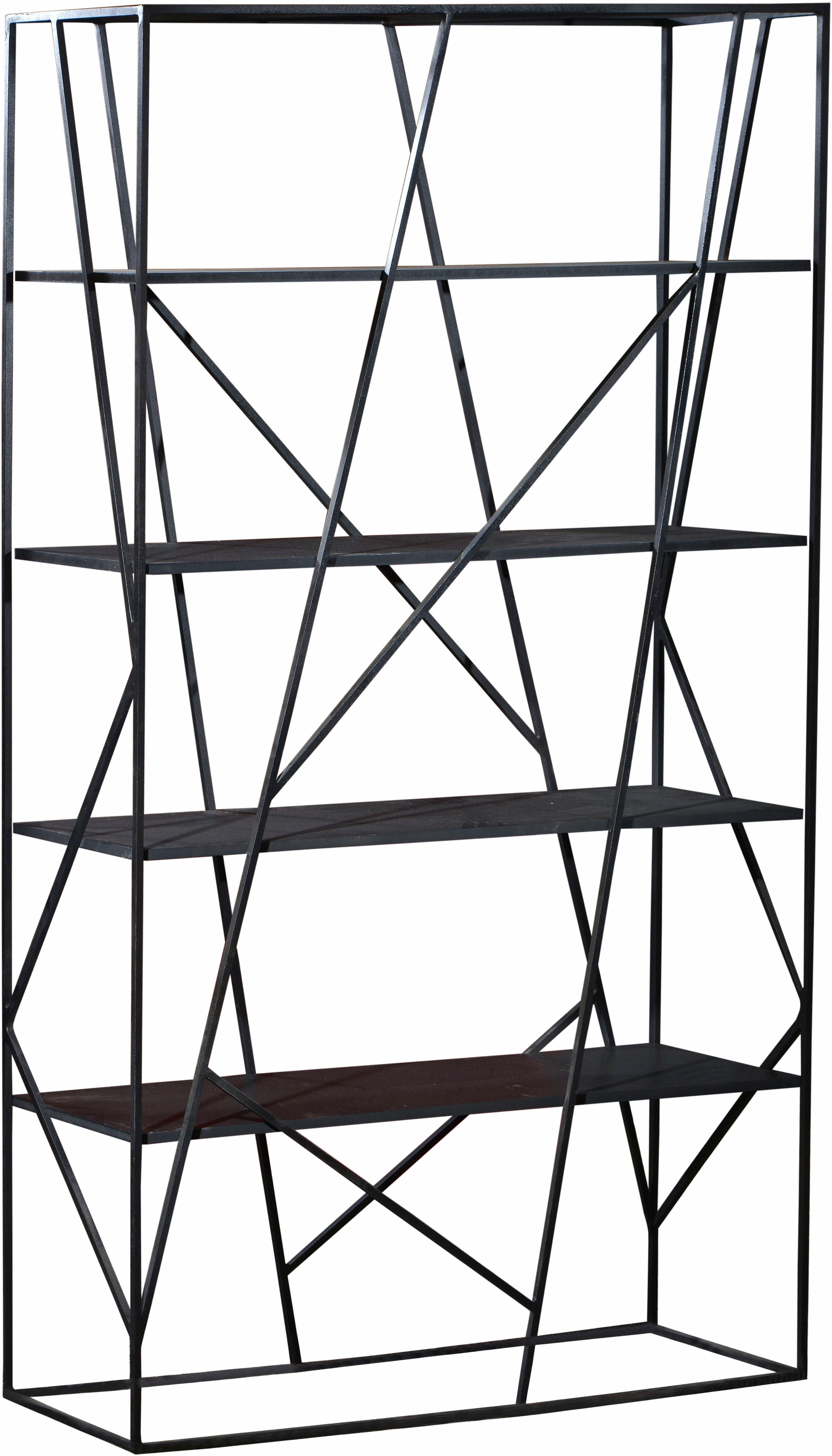 SIT Regal »Art & Deco«, mit Gestell aus Roheisen, Höhe 200 cm