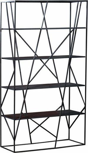 SIT Raumteilerregal »Art&Deko«, mit Gestell aus Roheisen, Höhe 200 cm