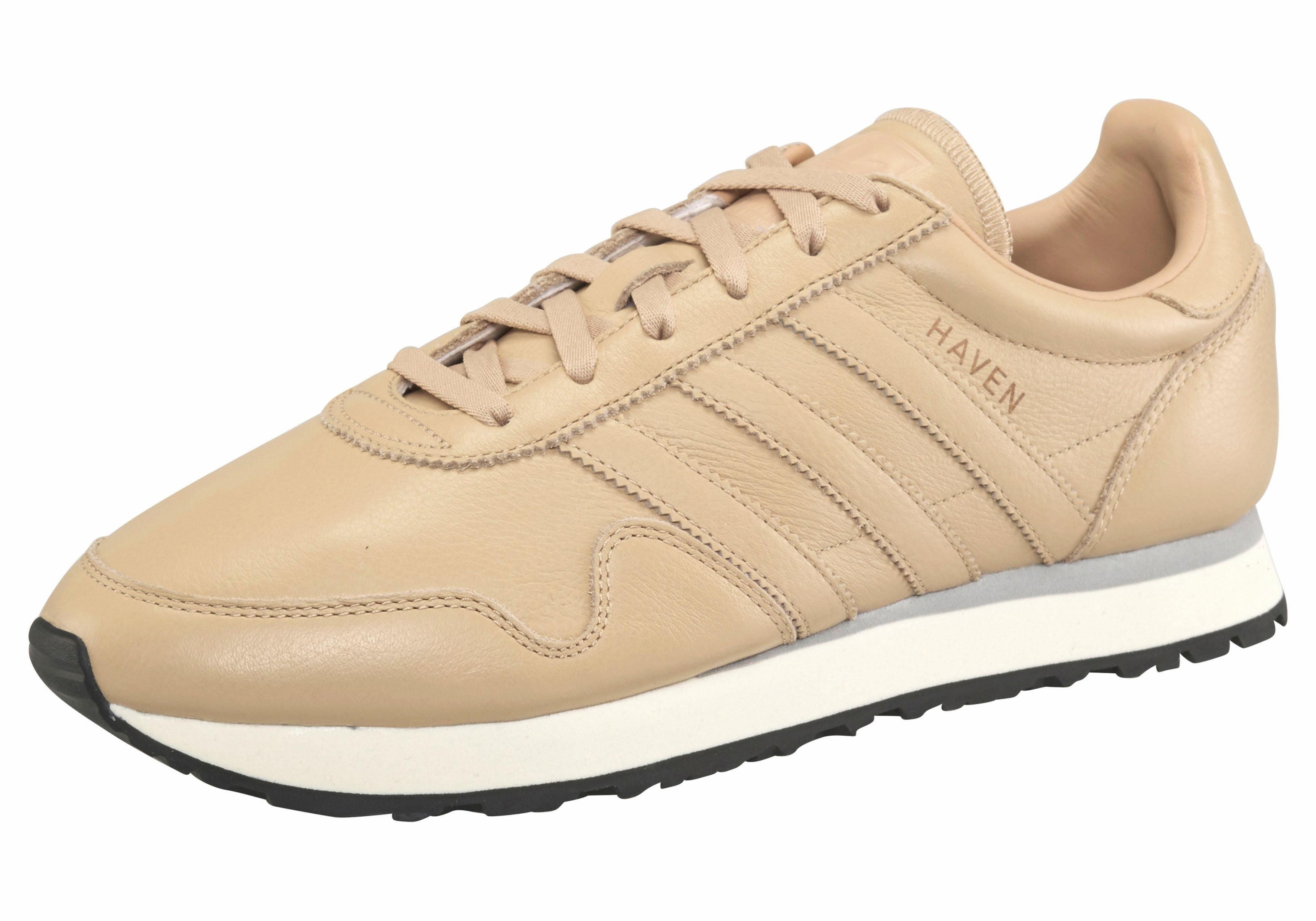adidas Originals Haven Leather Sneaker, Leder  sand
