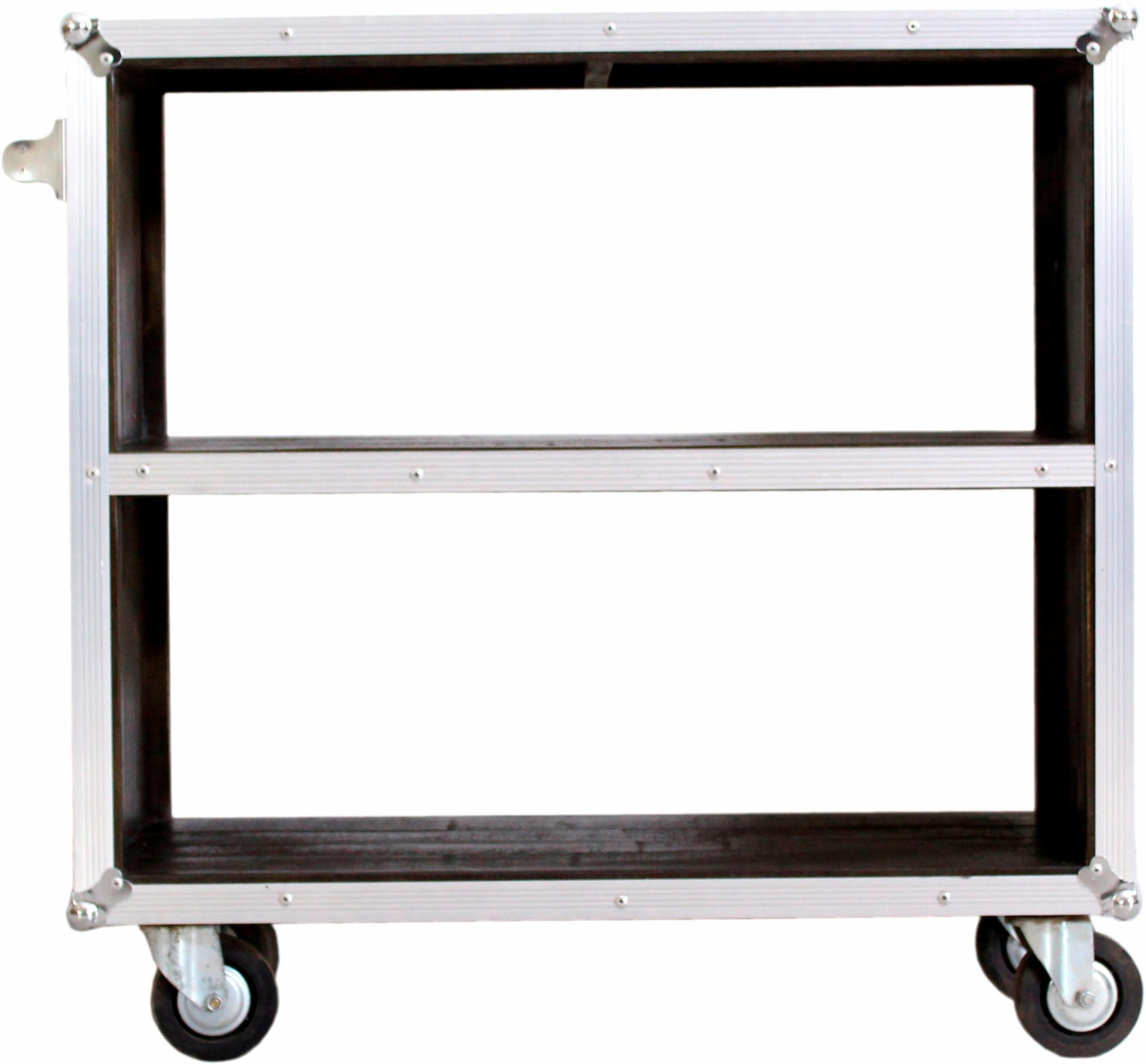 SIT Küchenwagen »Dark Roadies«, mit Aluprofilen und Rollen, Breite 80 cm