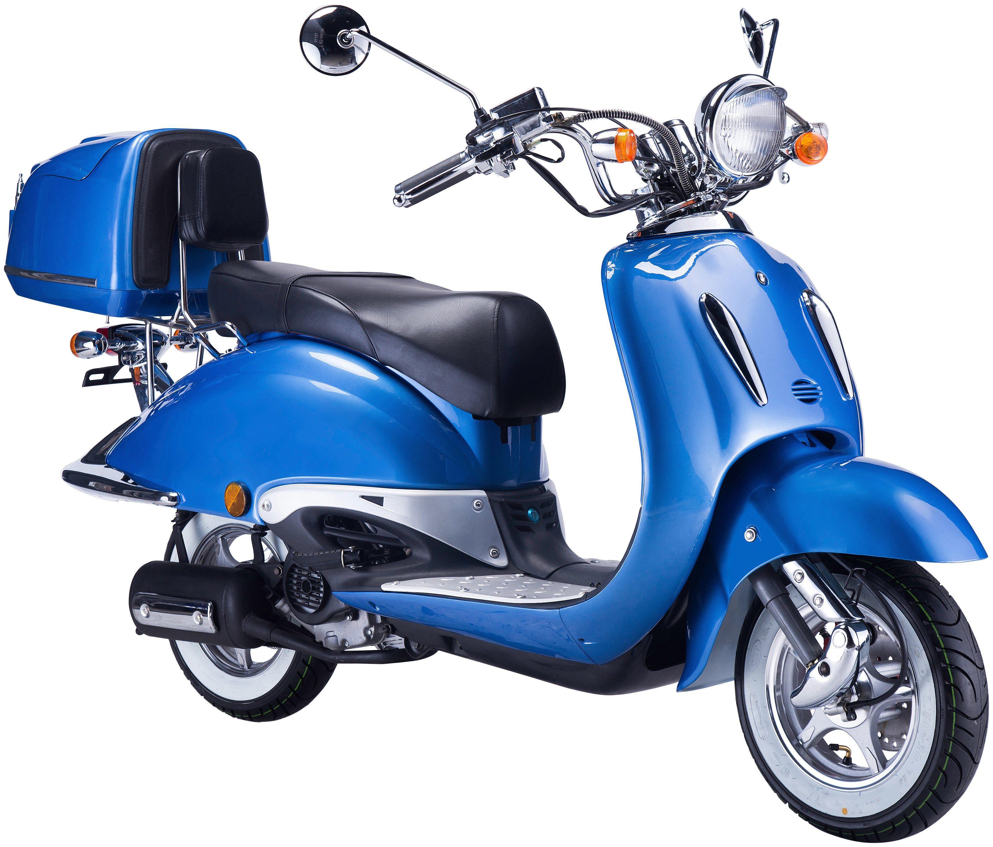 GT UNION Mofa »Strada«, 50 ccm, 25km/h, blau-schwarz