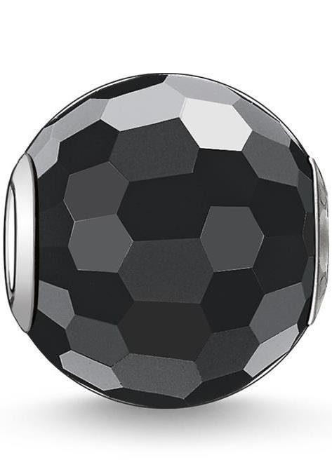 THOMAS SABO Bead »Karma Bead, Obsidian facettiert, K0003-023-11« mit Obsidian
