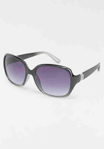 Sonnenbrille, in modischer Form, Oversize