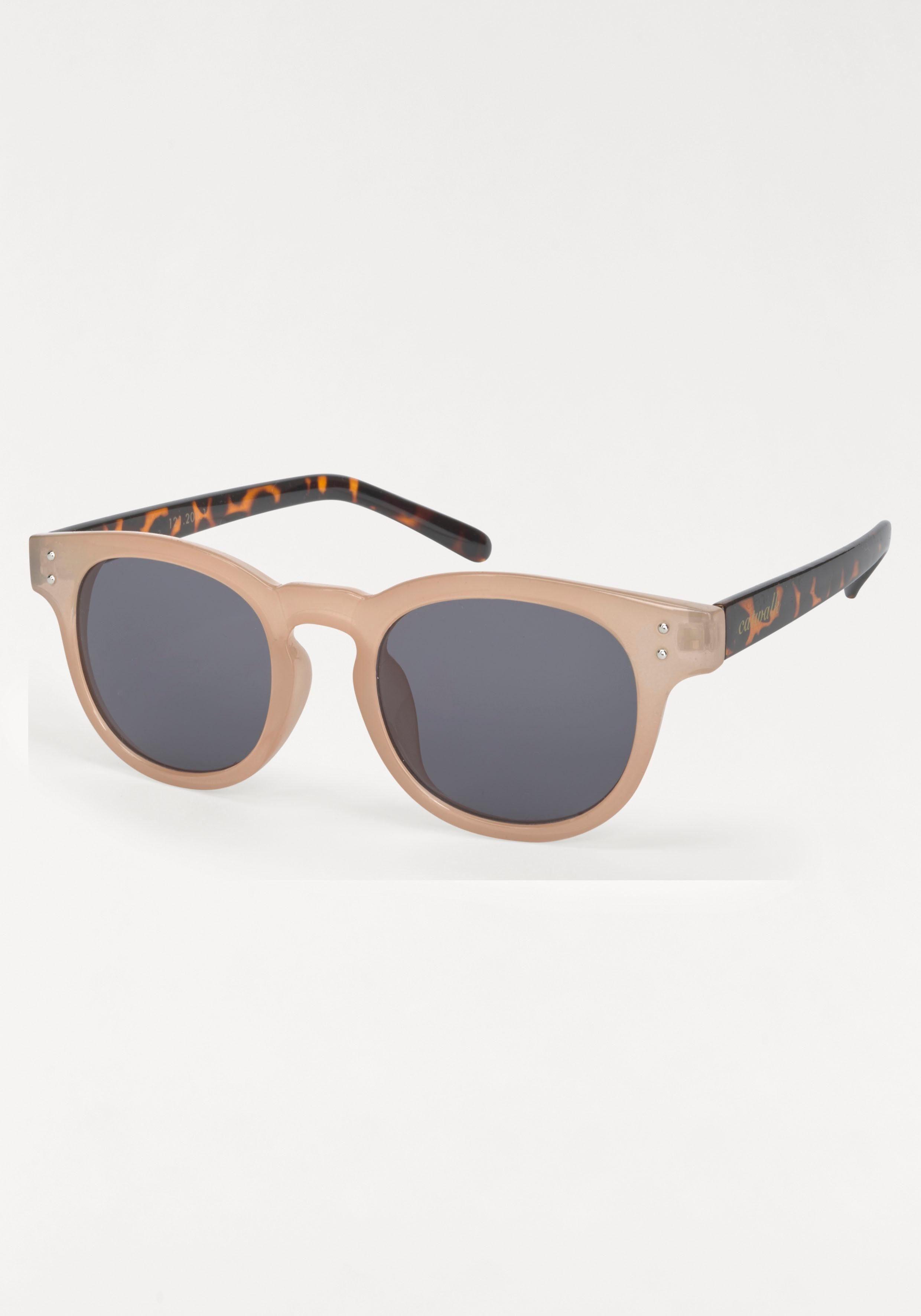 catwalk Eyewear Sonnenbrille Bügel Animal Print