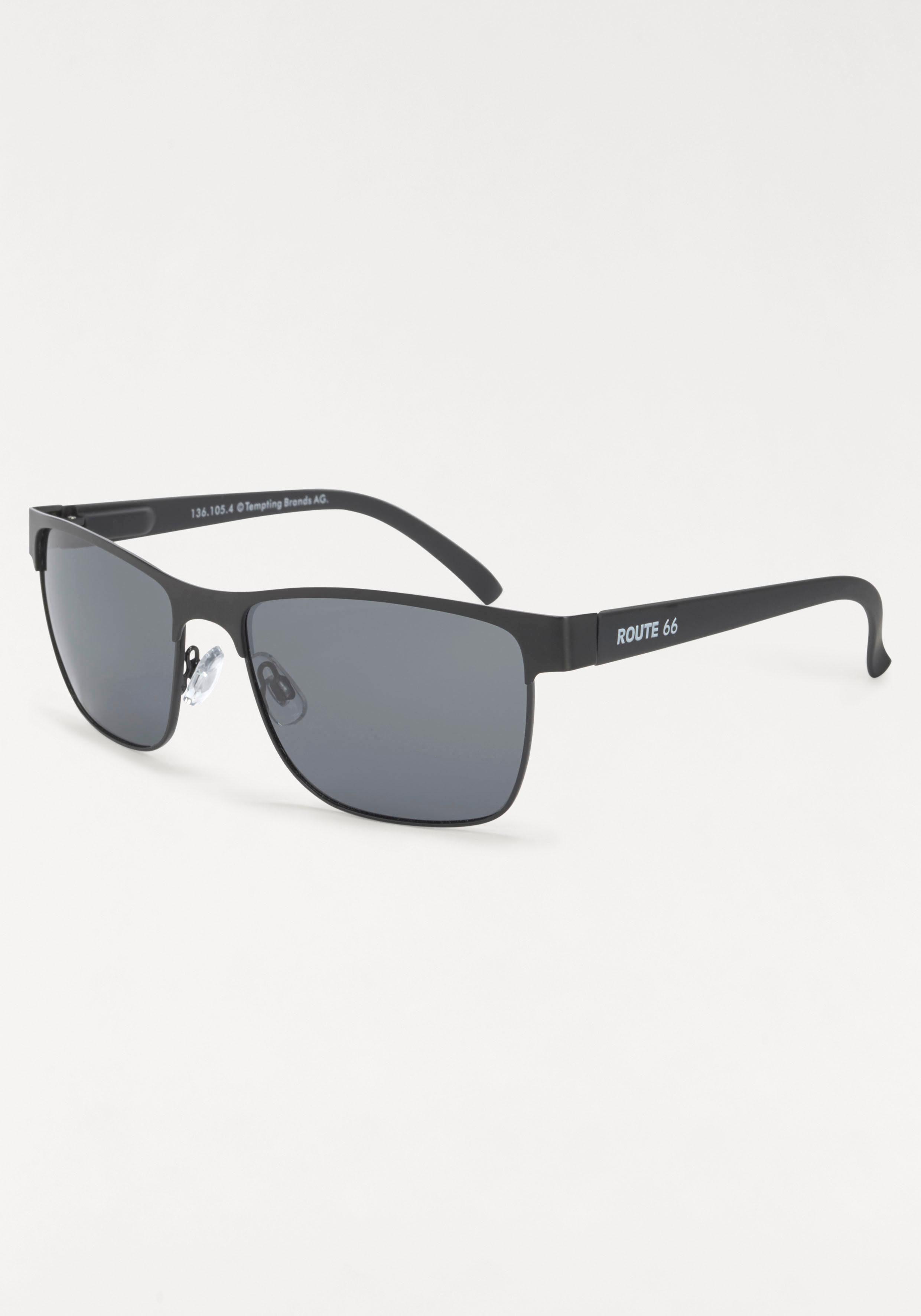 ROUTE 66 Feel the Freedom Eyewear Sonnenbrille im zeitlosen Look, Clubmaster Form