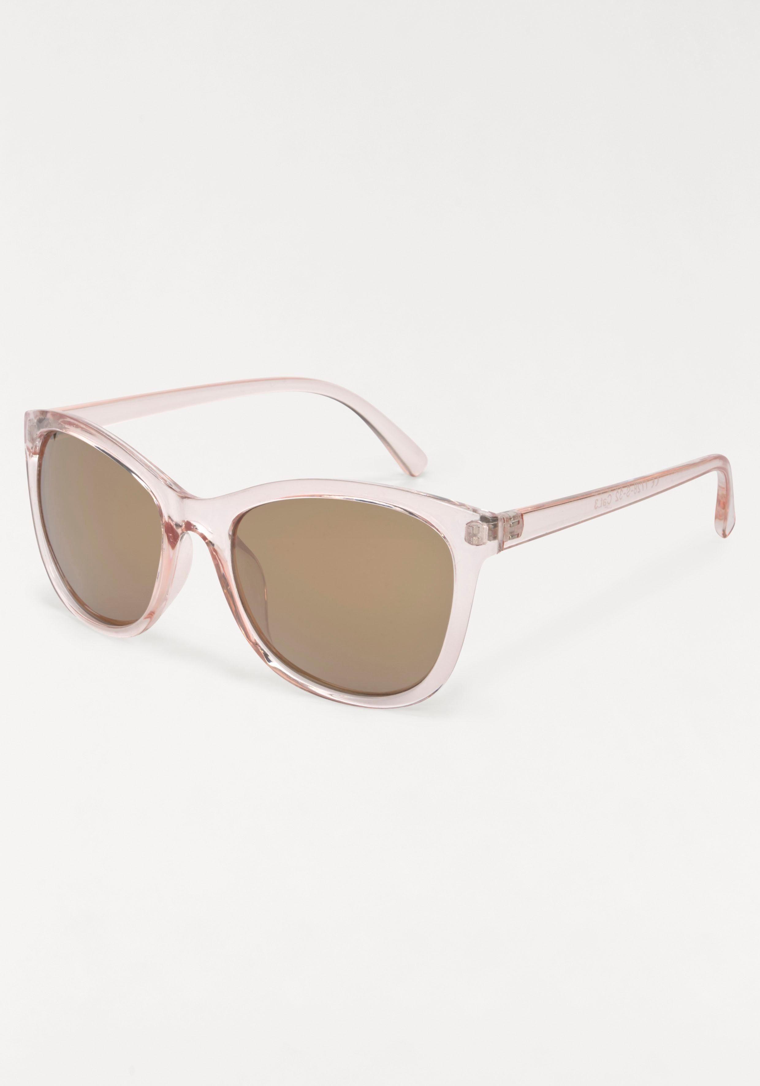 ROUTE 66 Feel the Freedom Eyewear Sonnenbrille, im modischen Design, braun, braun