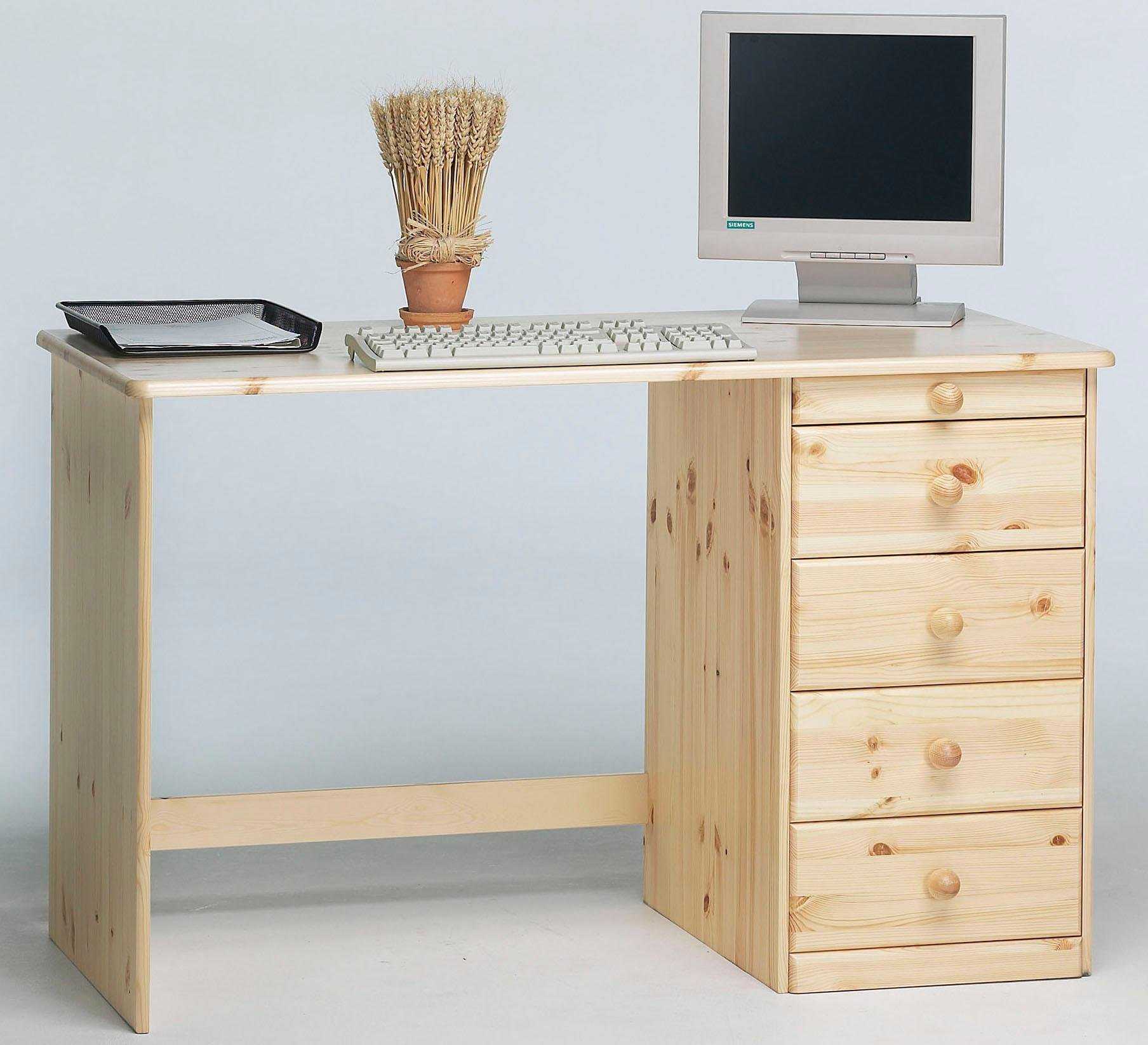 Schreibtisch 120 cm kirsche preisvergleich die besten for Schreibtisch breite 120