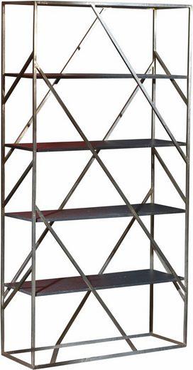 SIT Regal »Art&Deco«, mit Gestell aus Roheisen, Höhe 190 cm