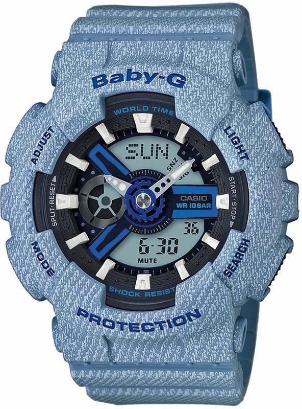 CASIO BABY-G Chronograph »BA-110DE-2A2ER«