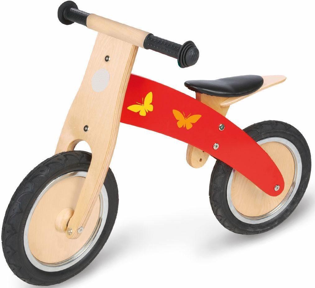 Pinolino Laufrad aus Holz mit Luftbereifung »Jojo«