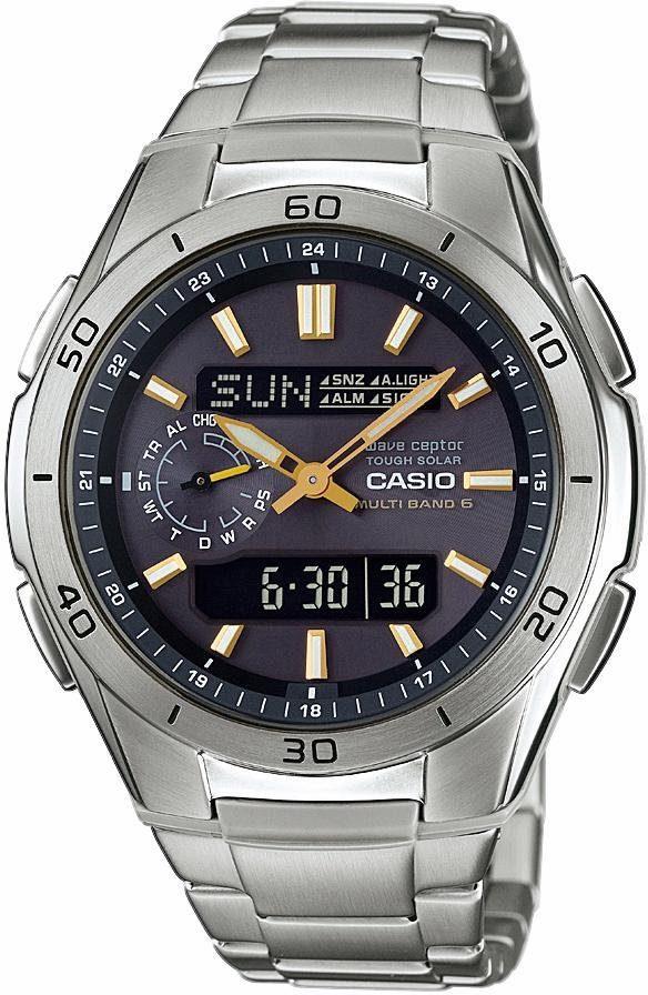 Casio Funk Funkchronograph »WVA-M650D-1A2ER«