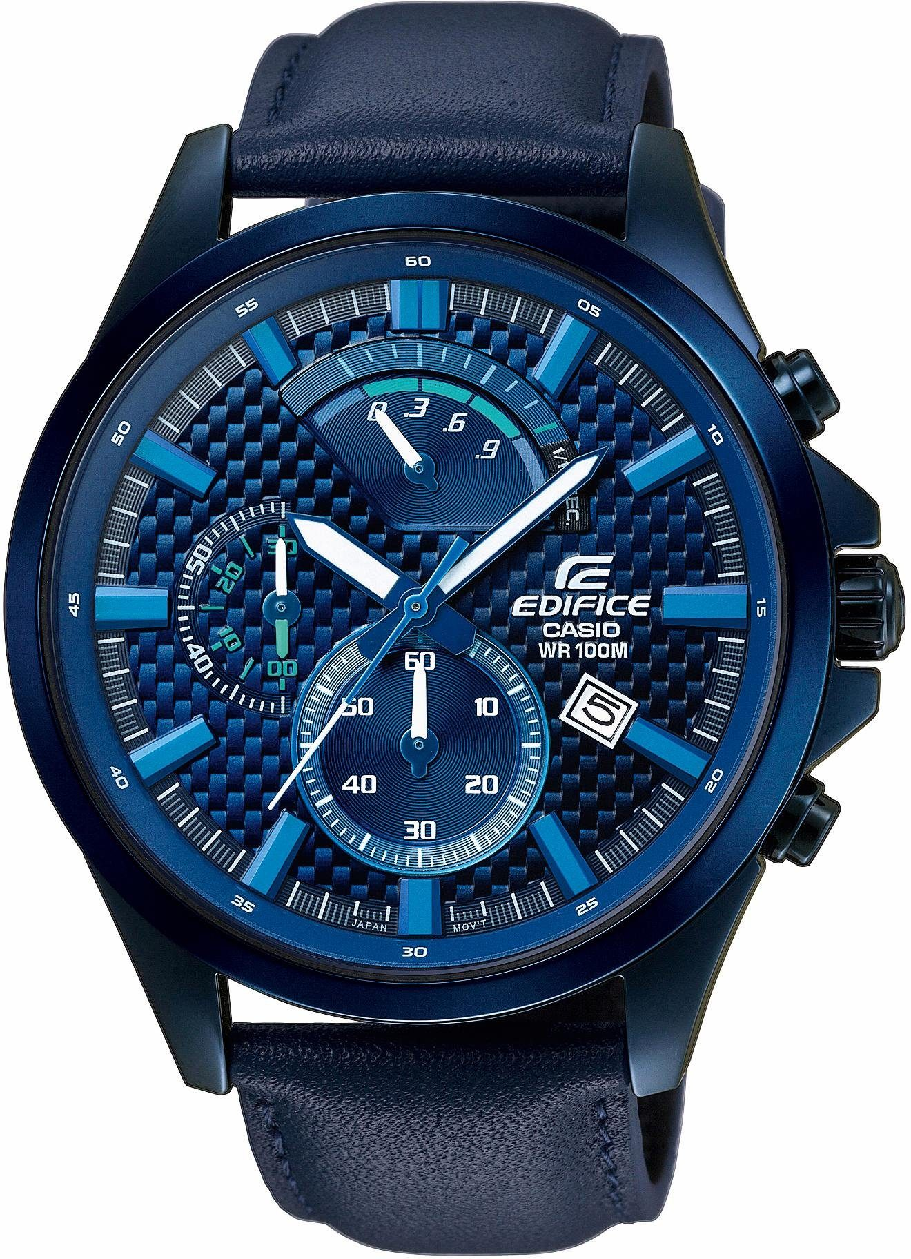 Edifice Chronograph »EFV-530BL-2AVUEF«