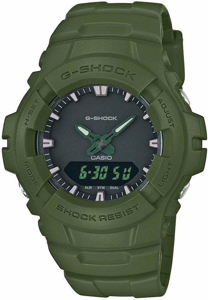 CASIO G-SHOCK Chronograph »G-100CU-3AER«