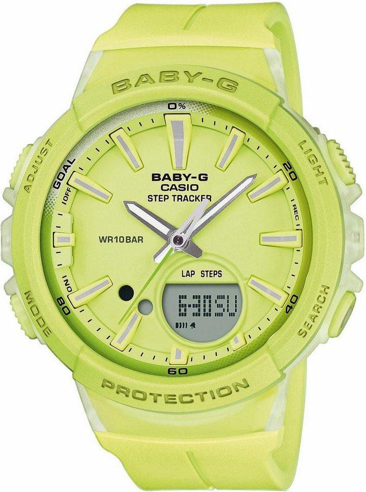 CASIO BABY-G Chronograph »BGS-100-9AER« | Uhren > Chronographen | Gelb | CASIO BABY-G