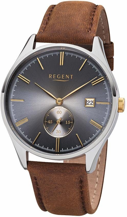Regent Quarzuhr »11110818« mit kleiner Sekunde