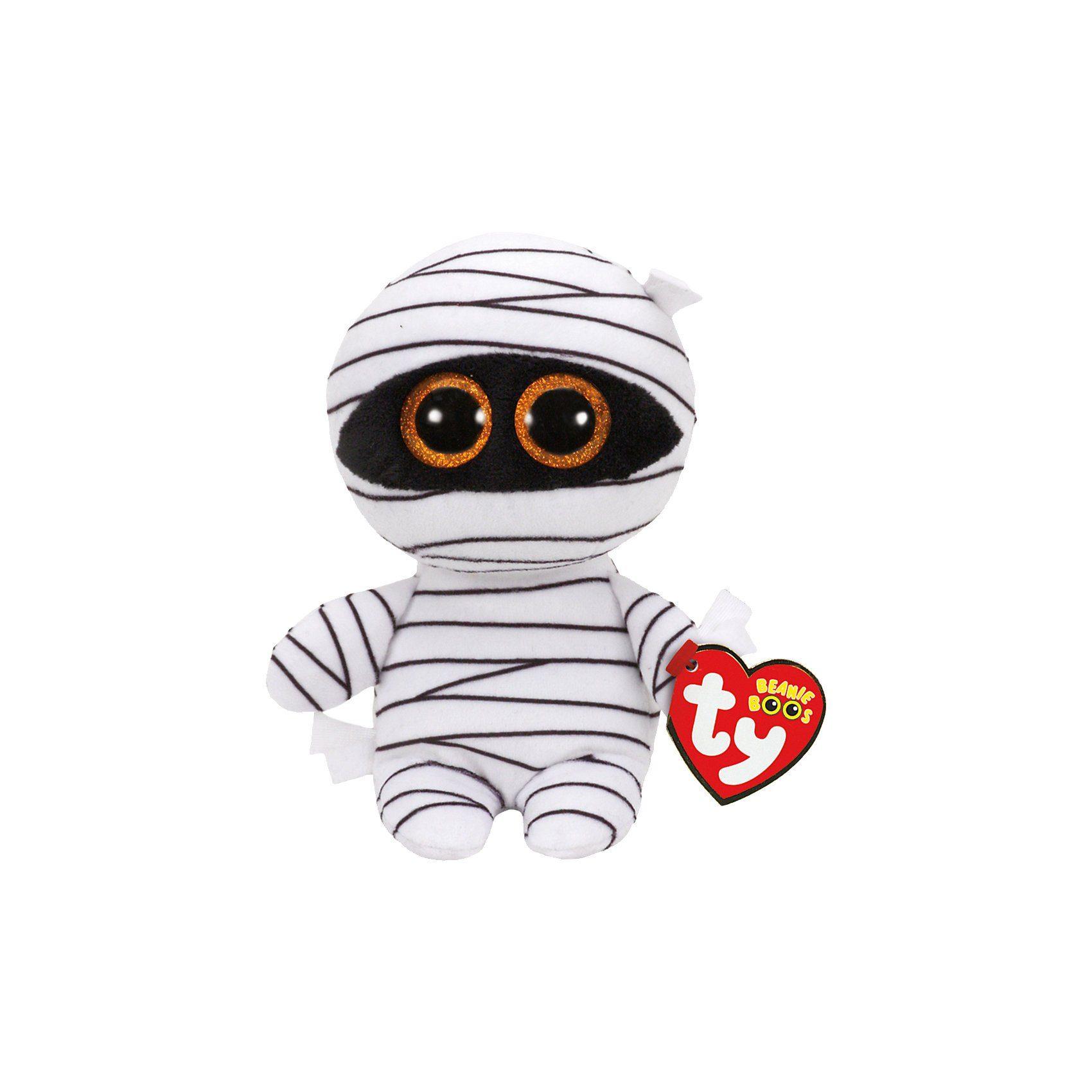 Ty® Beanie Boo Mumie Mummy weiß, 15 cm