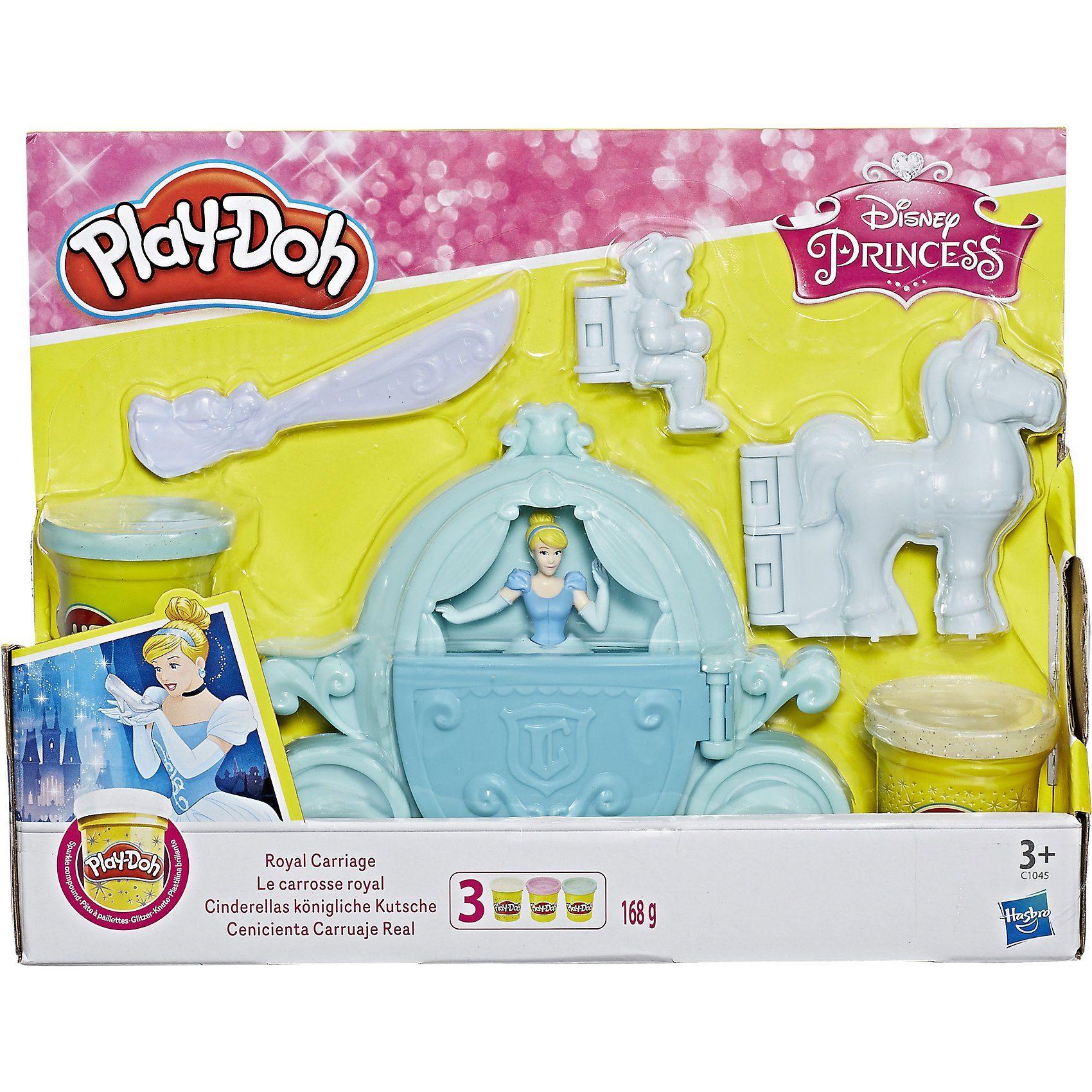 Hasbro Play-Doh Cinderellas königliche Kutsche