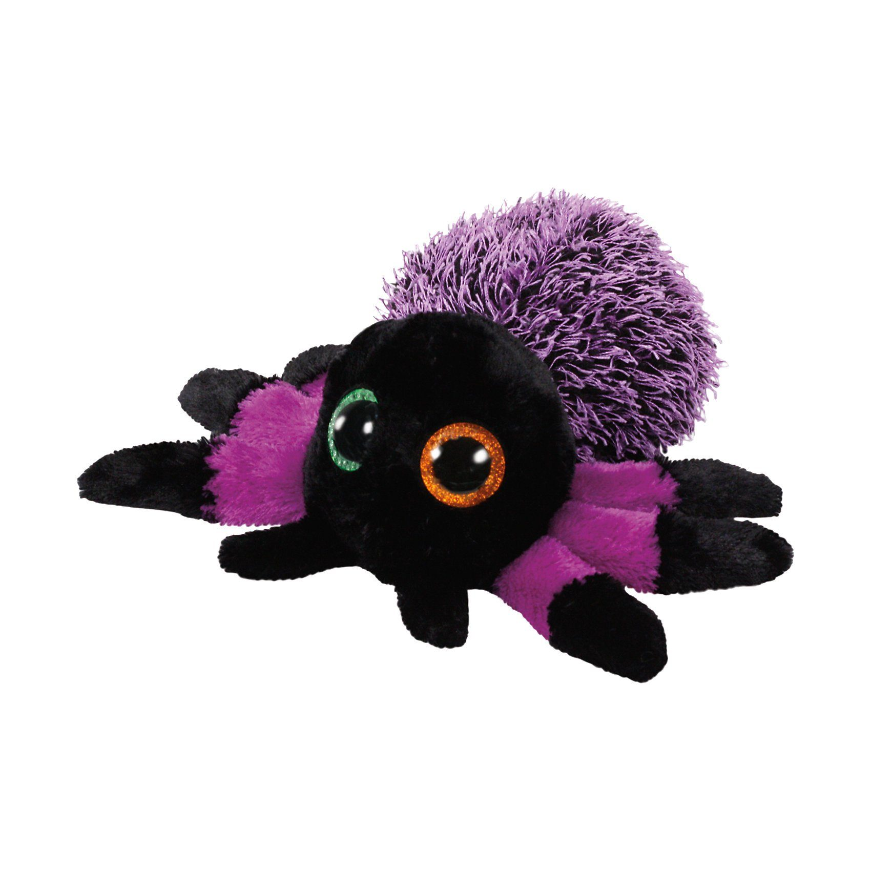 Ty® Beanie Boo Spinne Creeper schwarz/violett, 15 cm