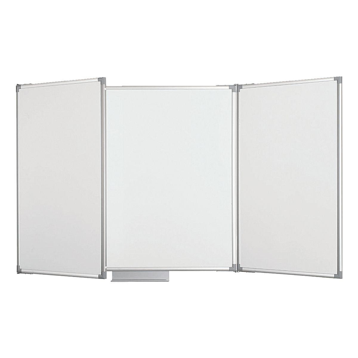 MAUL Whiteboard-Klapptafel kunststoffbeschichtet, 150 x 100 cm