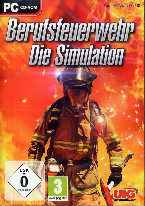 UIG Berufsfeuerwehr Die Simulation »PC«