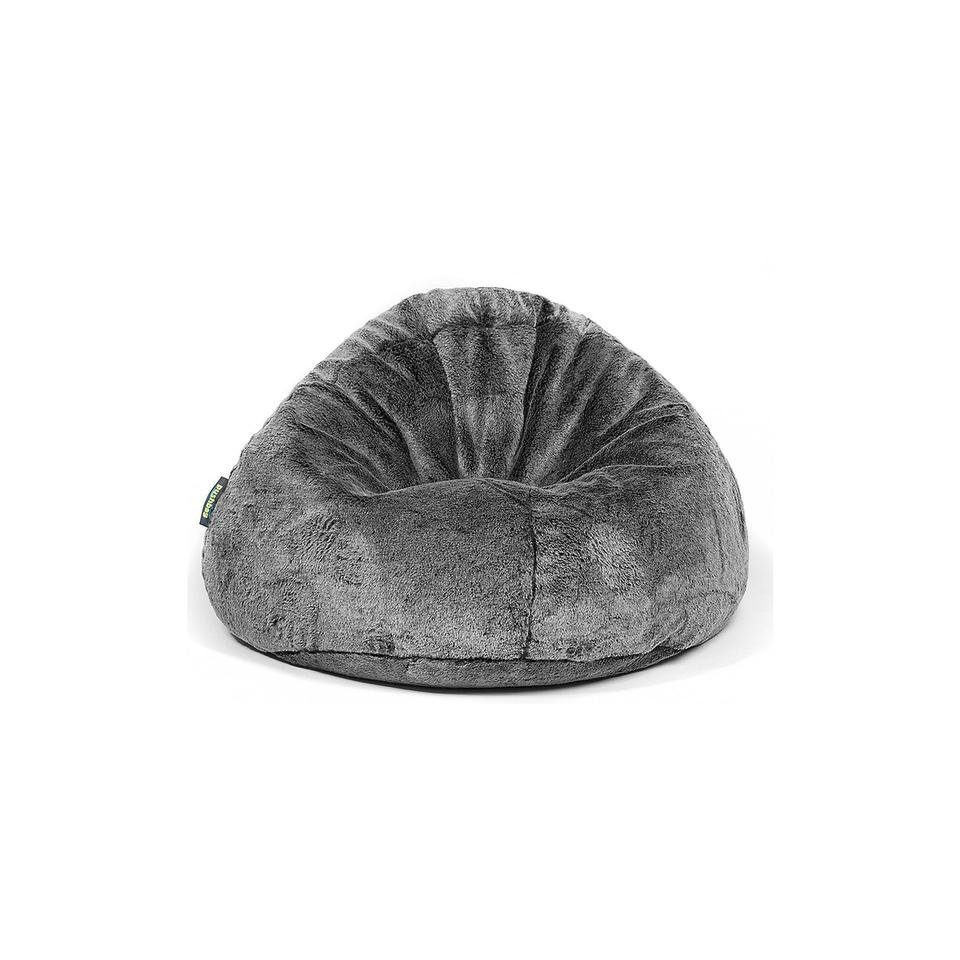 Sitzsack BAG 500, Kunstfell Fur, schwarz