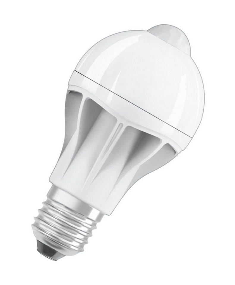osram led motion sensor classic a led lampe bewegungssensor st clas a 60 9 w 827 e27 online. Black Bedroom Furniture Sets. Home Design Ideas