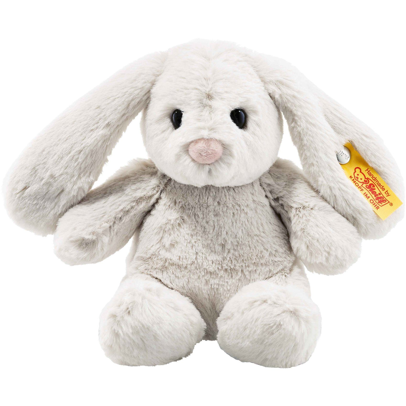 Steiff Soft Cuddly Friends Hase Hoppie hellgrau, 18 cm